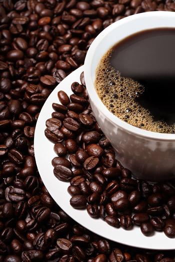 กาแฟและเมล็ดกาแฟน่าสนใจภาพคุณภาพวัสดุ