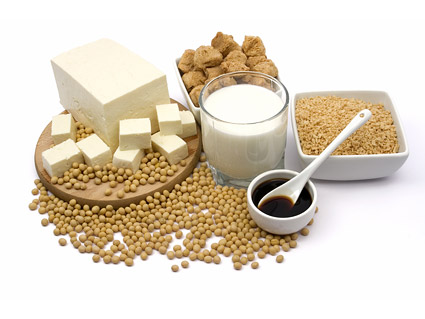 Material de imagen de calidad de soja