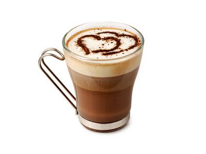 一杯のコーヒーの画像素材