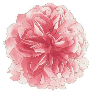 Flores pintados a mano por capas de material psd-2