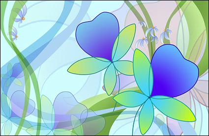 ชุดรูปแบบที่คมชัดเป็นพิเศษซูเปอร์ดอกไม้-1