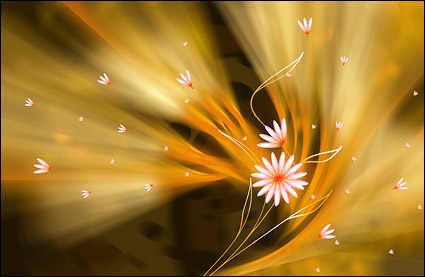 Super thème ultrafin fleur-5.