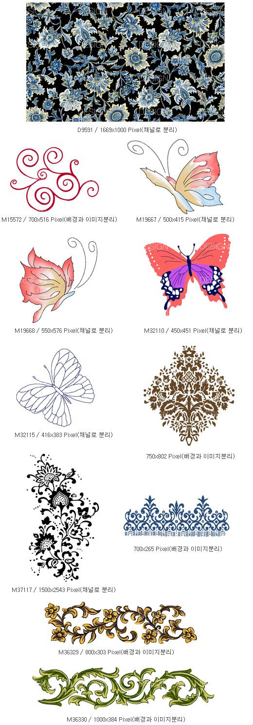 Patrons de papillon