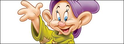 DisneyCartoon Zeichen Serie - Zwerge