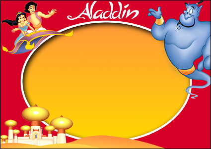 Dessins animés de Disney cadres psd matériel-9.