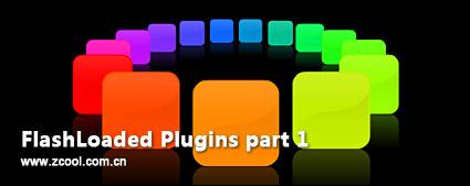 Composants de flashloaded flash brillant avec le fichier fla source-part1