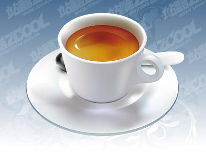 Чашечку кофе вектор