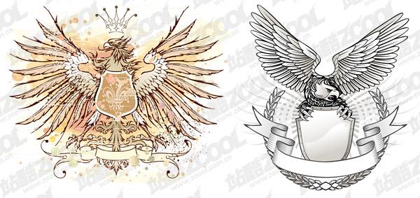 Material de desenho vetorial Eagle