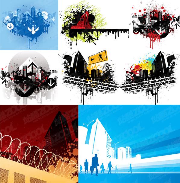 सामग्री के निर्माण से संबंधित का वेक्टर चित्र