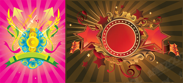 Cool element of the trend vector material