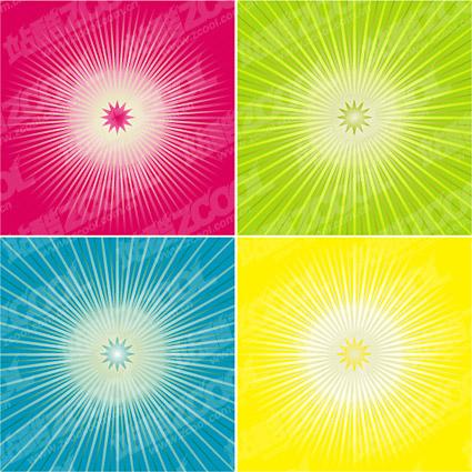 La tendencia del vector de color