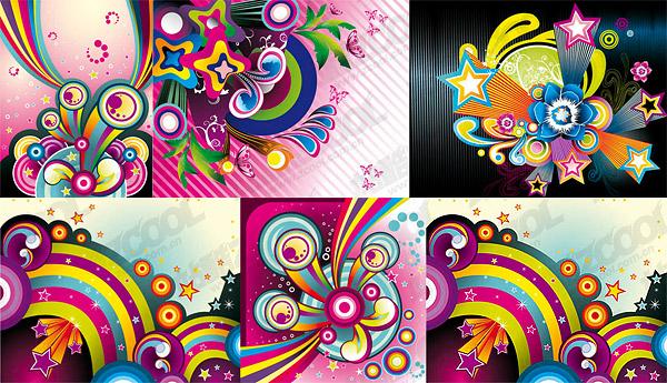 vector de color