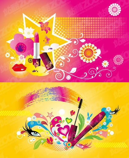 Tema color vector de material