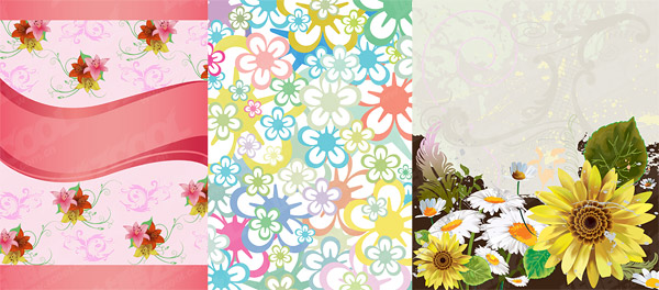 花関連するベクトル