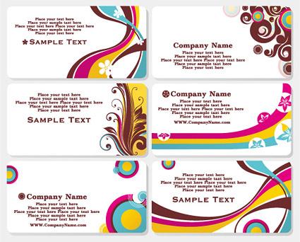 Mode kartu template vektor