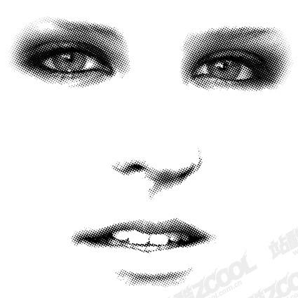 顔のベクトル