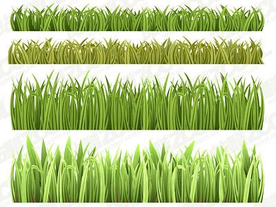 material de hierba