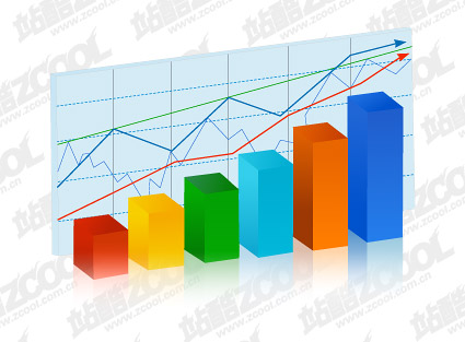 सांख्यिकी चार्ट तत्व वेक्टर सामग्री