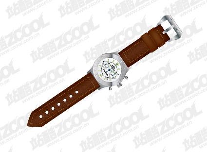 ベクトル時計材料
