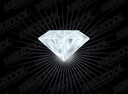 ベクトルの絶妙なダイヤモンドの素材
