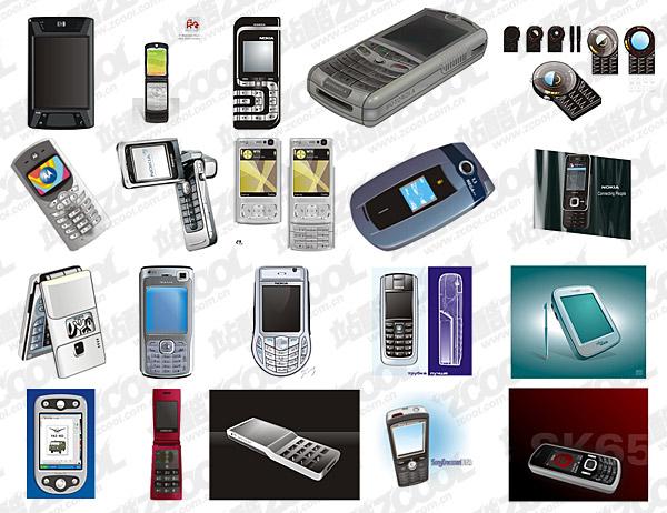 휴대 전화 벡터 자료의 cdr 형식