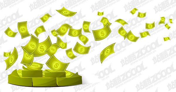 Деньги вектор
