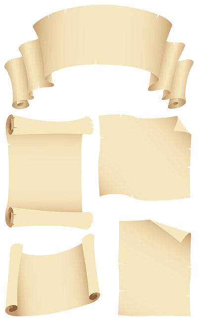紙材料シリーズ 9 のノスタルジックなイメージ