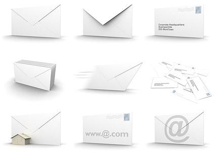 Matériel d'enveloppe image 3D
