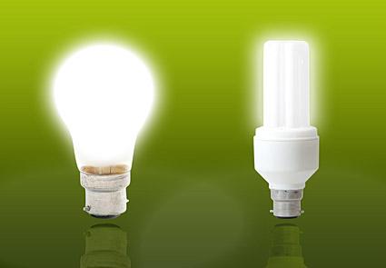 Lámparas de ahorro de energía imagen material-3