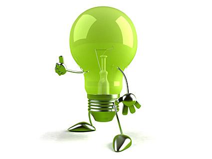 Material de imagen de niño de luz verde
