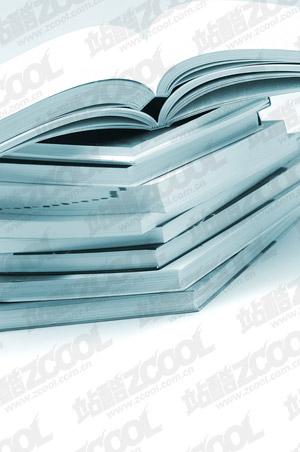 Una pila de libros y una calidad de imagen