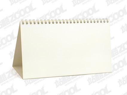 空白のカレンダーの画像のフレームの製品