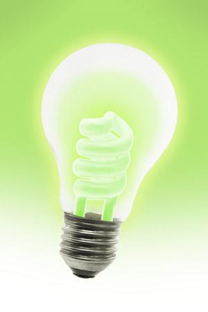 代替の電球の画像素材-2