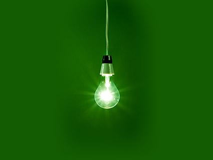 電球の画像素材