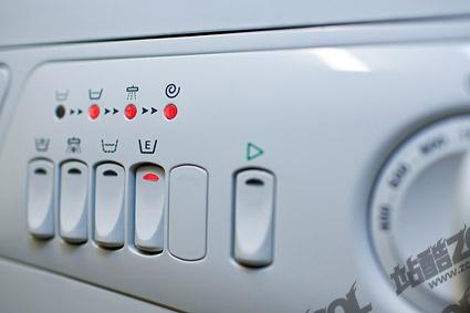 เครื่องซักผ้าปุ่มรูปภาพวัสดุ