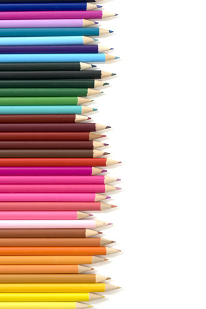 Matriz de material de imagen de lápiz de color