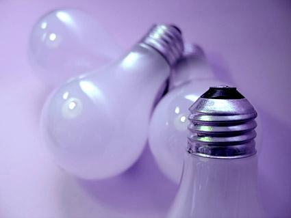 白熱電球の画像素材