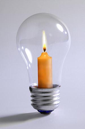 電球の絵の素材の種類