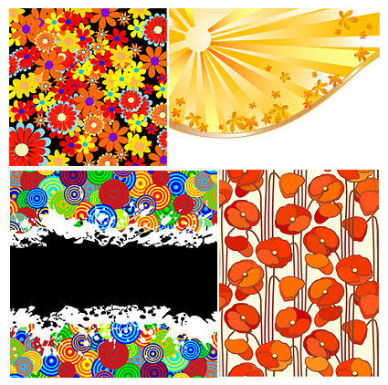 farbigen Hintergrund materiell Vektor