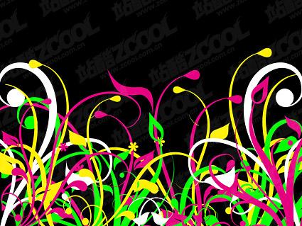 Материал вектор цвет травы