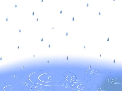 Lluvia rizo vector material