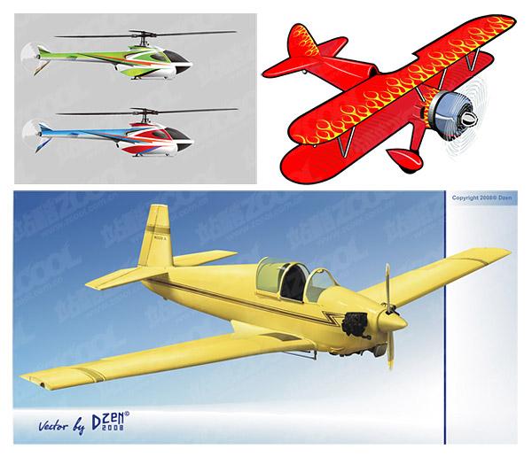 material de aviones