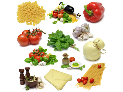 Pflanzliche Lebensmittel-Bildmaterial