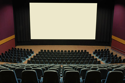 Ruhige Kino-Bildmaterial