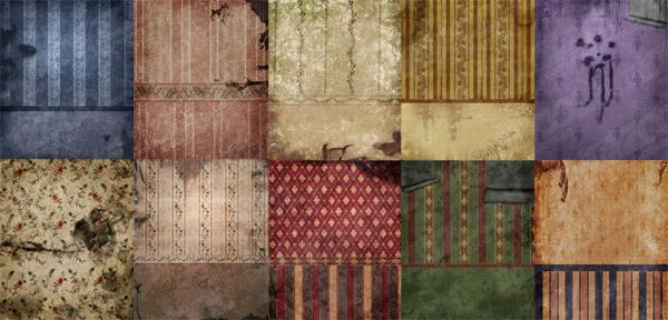 Континентальный ветхие стены обои картинки материала-2
