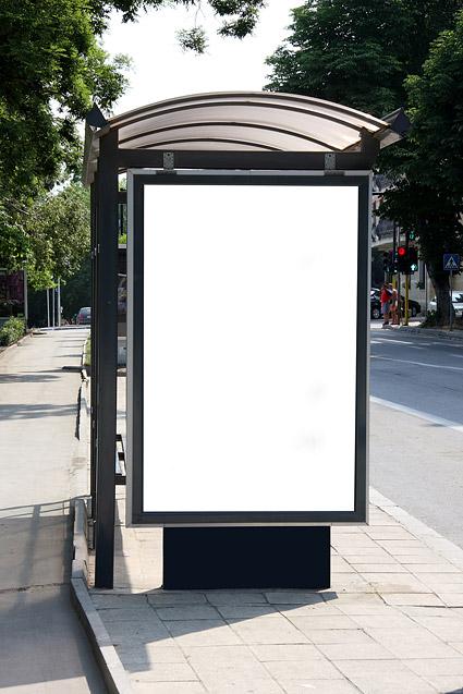 画像空白テンプレート素材の避難所を看板します。