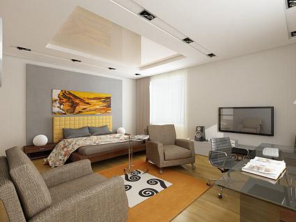 아름 다운 집 인테리어 그림 소재-14