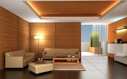 Bella imagen interior casa material-5