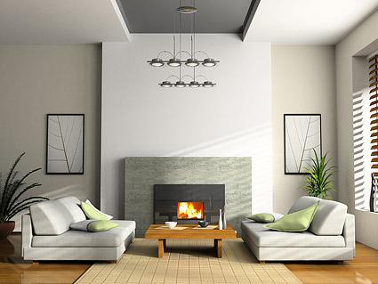 아름 다운 집 인테리어 그림 자료-4