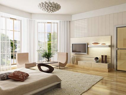 Bella imagen interior casa material-1